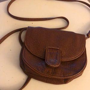 American eagle crossbody brown purse